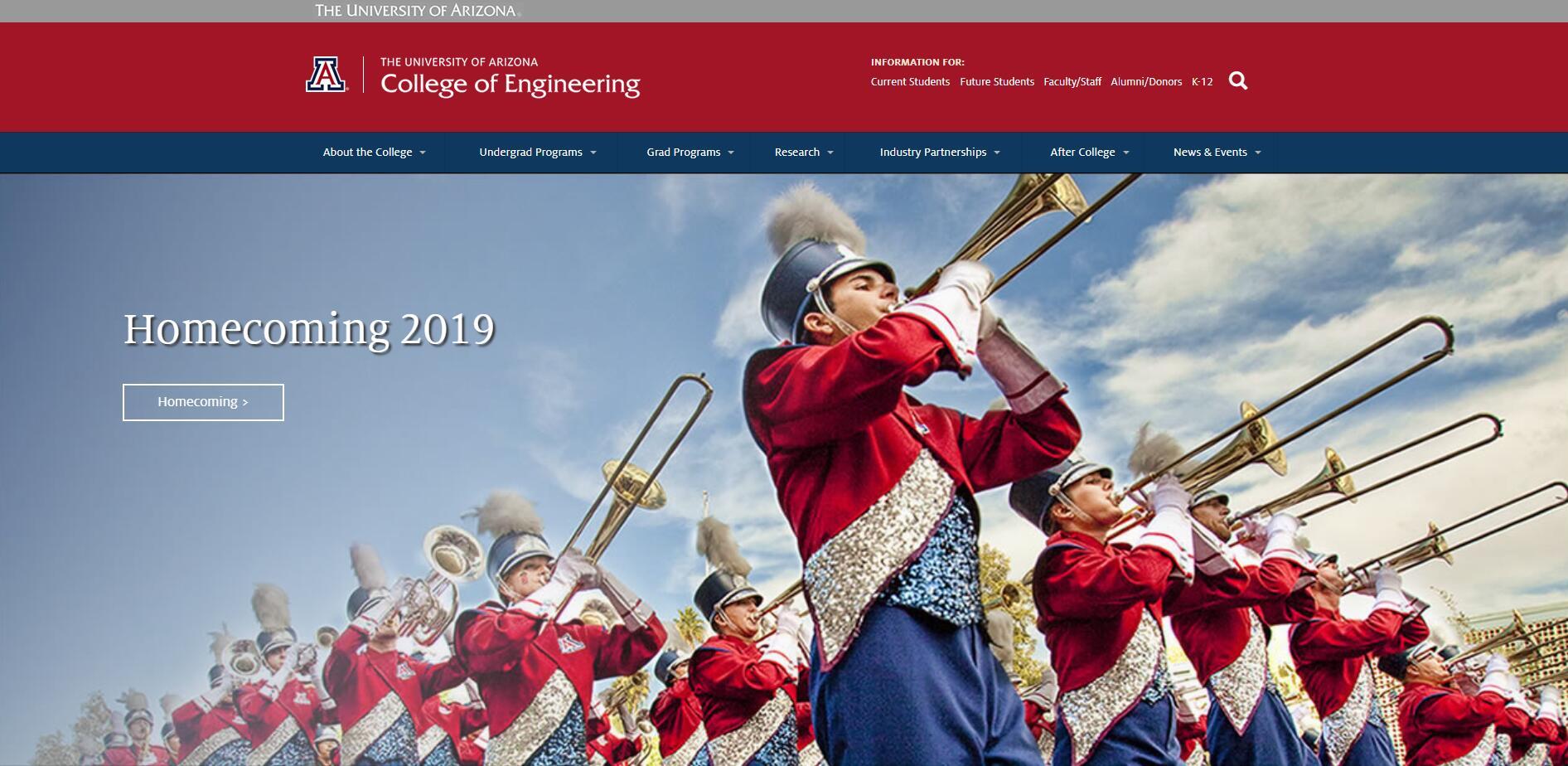 The College of Engineering at University of Arizona