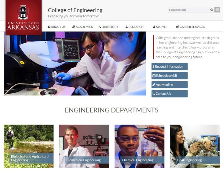 The College of Engineering at University of Arkansas