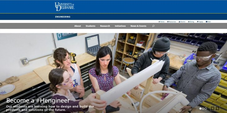 The College of Engineering at University of Delaware