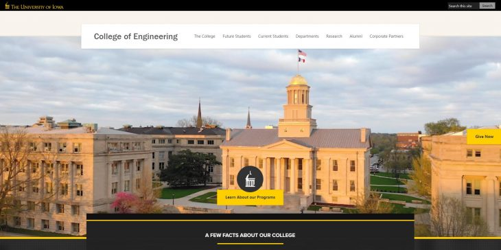 The College of Engineering at University of Iowa