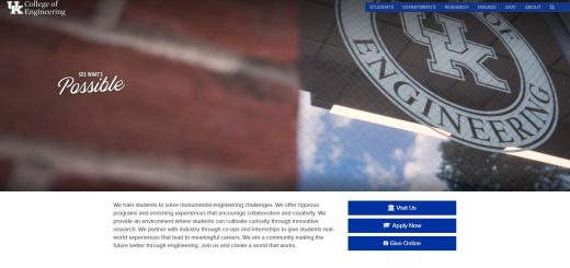 The College of Engineering at University of Kentucky