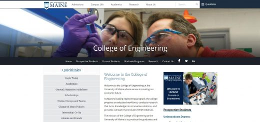The College of Engineering at University of Maine