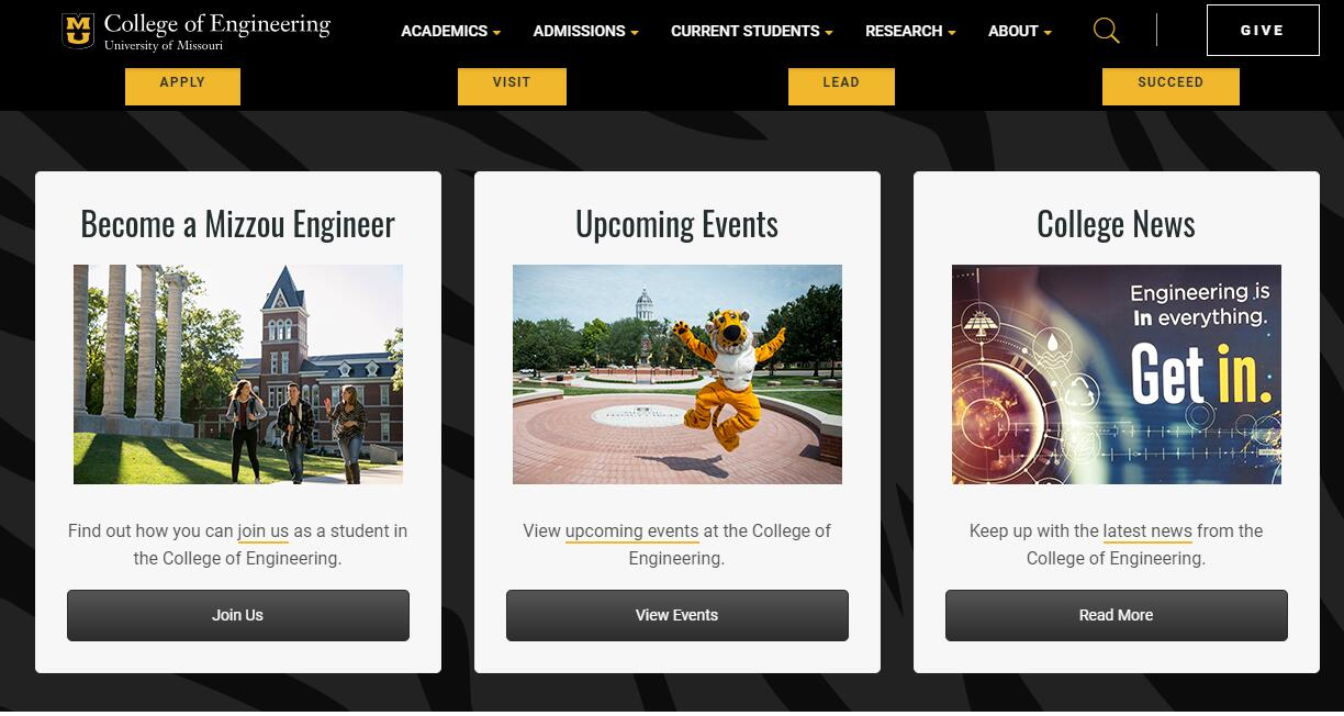 The College of Engineering at University of Missouri