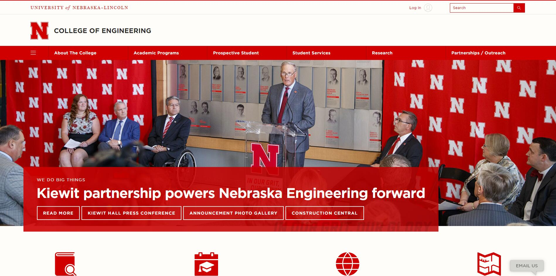 The College of Engineering at University of Nebraska--Lincoln