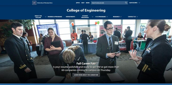 The College of Engineering at University of Nevada--Reno