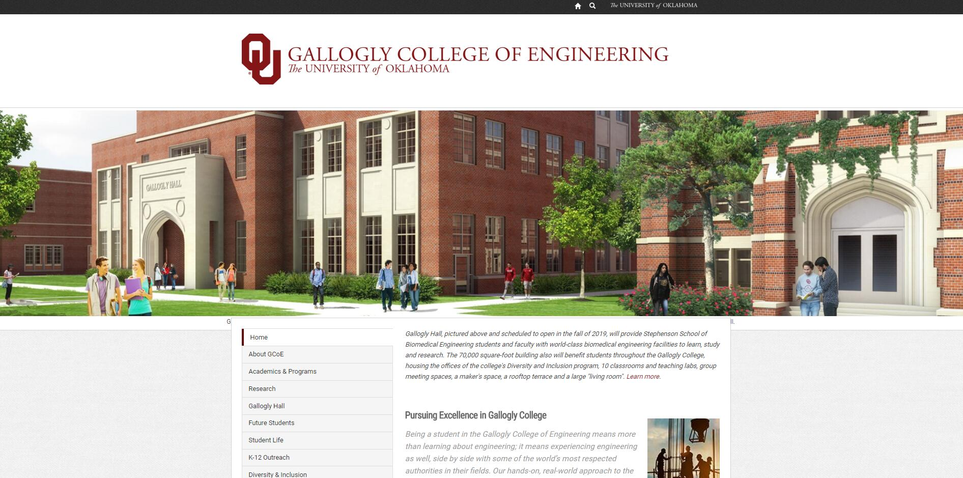 The College of Engineering at University of Oklahoma
