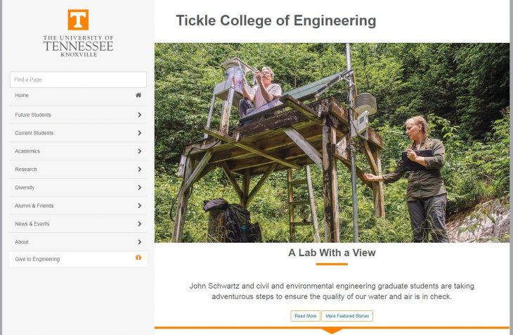 The College of Engineering at University of Tennessee