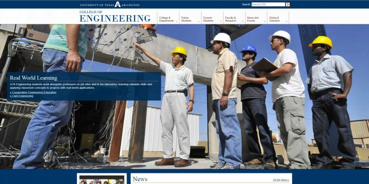 The College of Engineering at University of Texas--Arlington