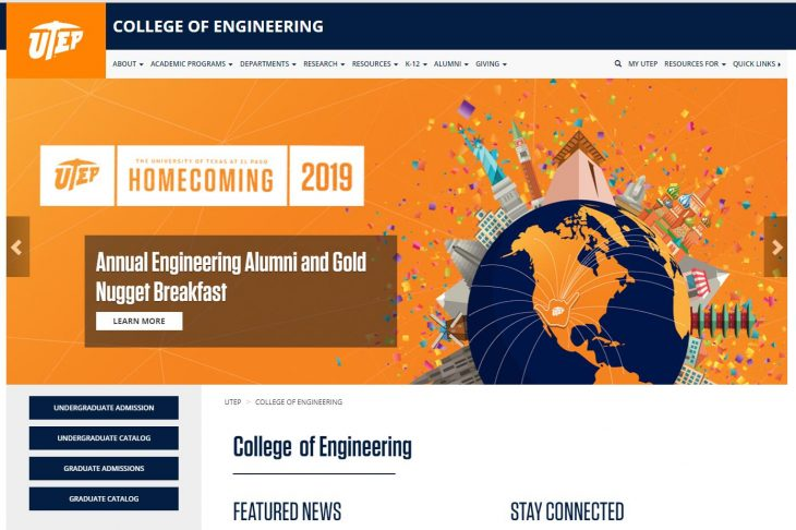 The College of Engineering at University of Texas--El Paso