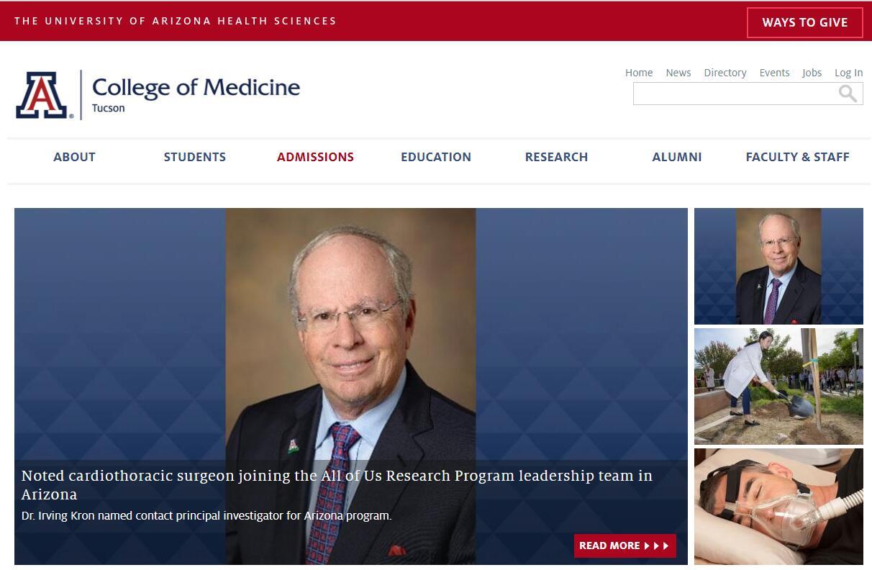 The College of Medicine at University of Arizona