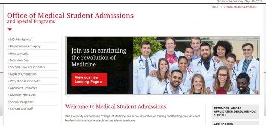 The College of Medicine at University of Cincinnati