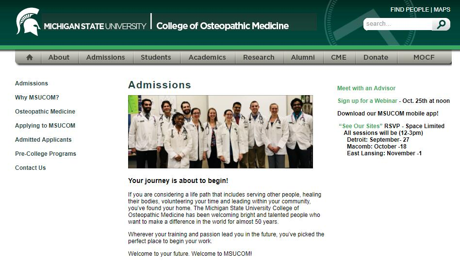 The College of Osteopathic Medicine at Michigan State University