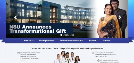 The College of Osteopathic Medicine at Nova Southeastern University