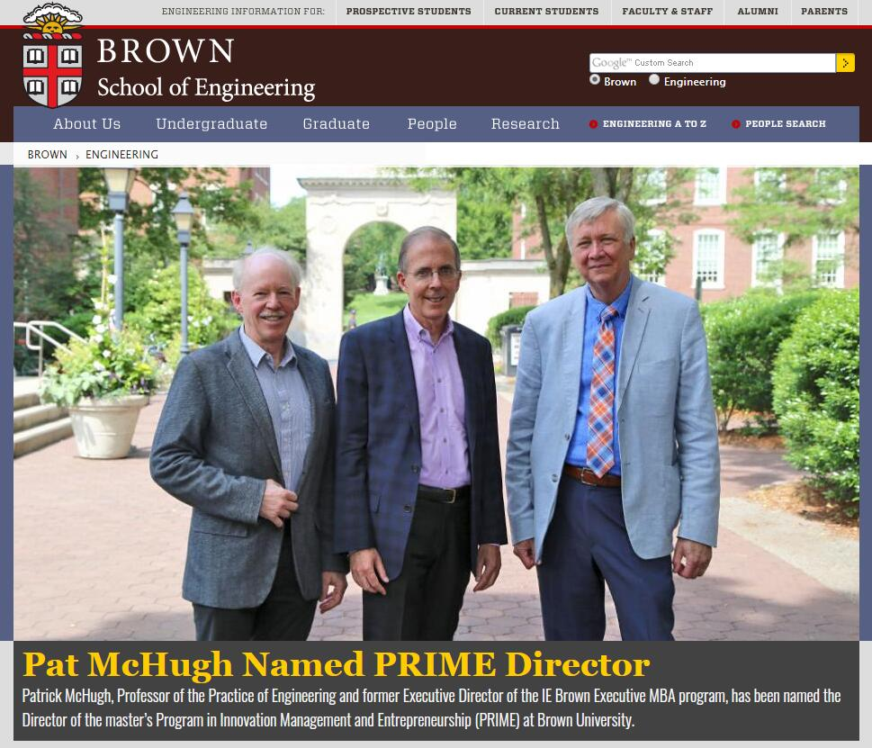 The Division of Engineering at Brown University