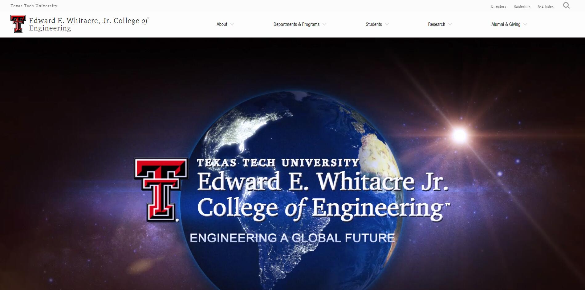 The Edward E. Whitacre Jr. College of Engineering at Texas Tech University