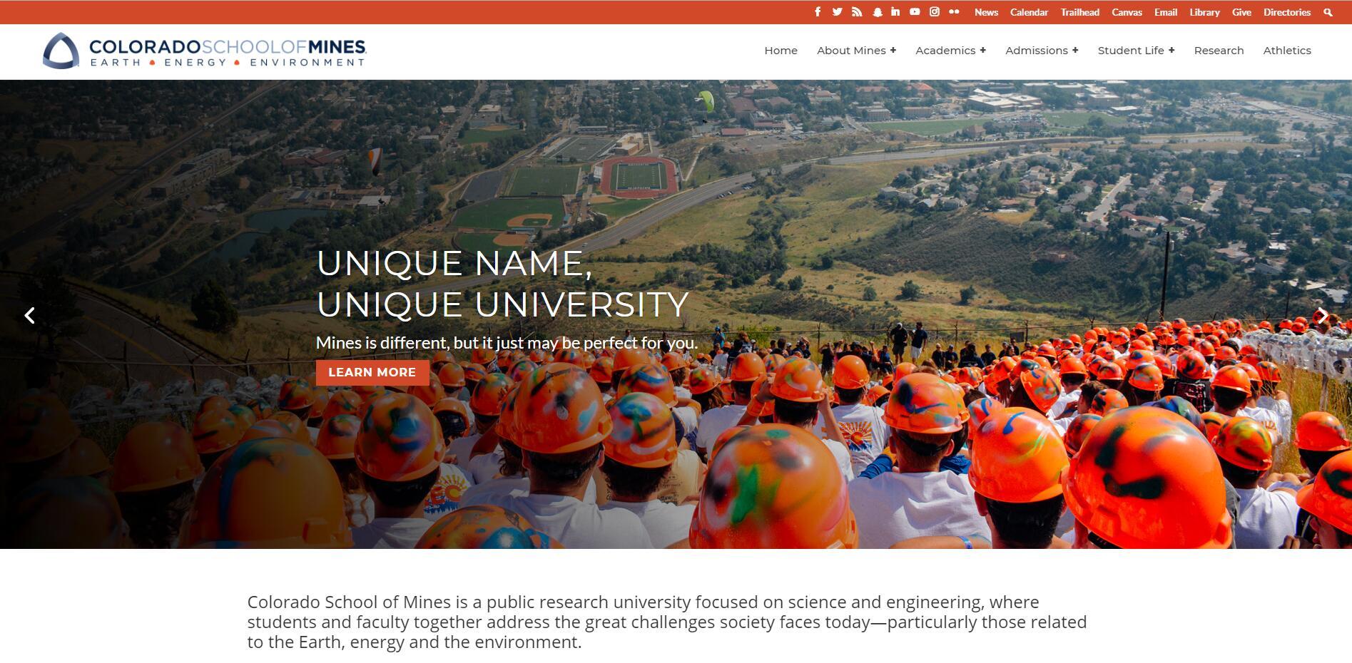 The Engineering School at Colorado School of Mines