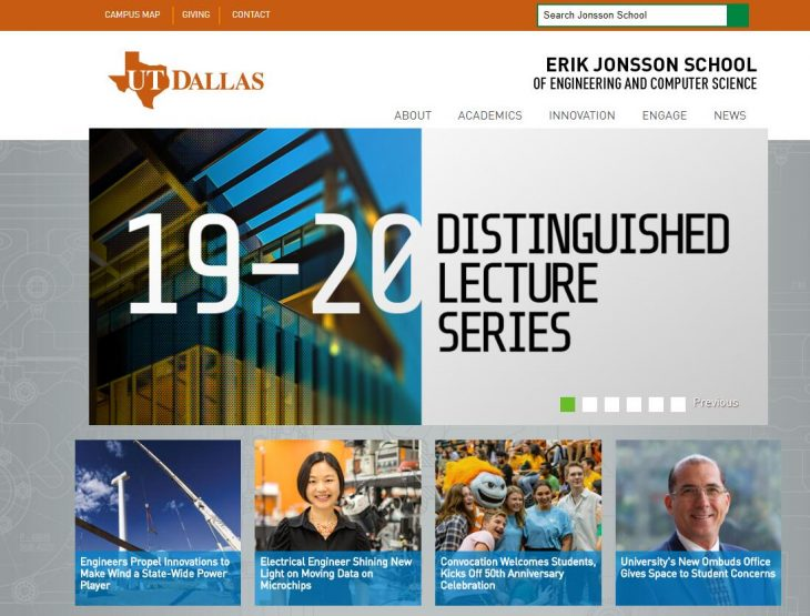 The Erik Jonsson School of Engineering and Computer Science at University of Texas--Dallas