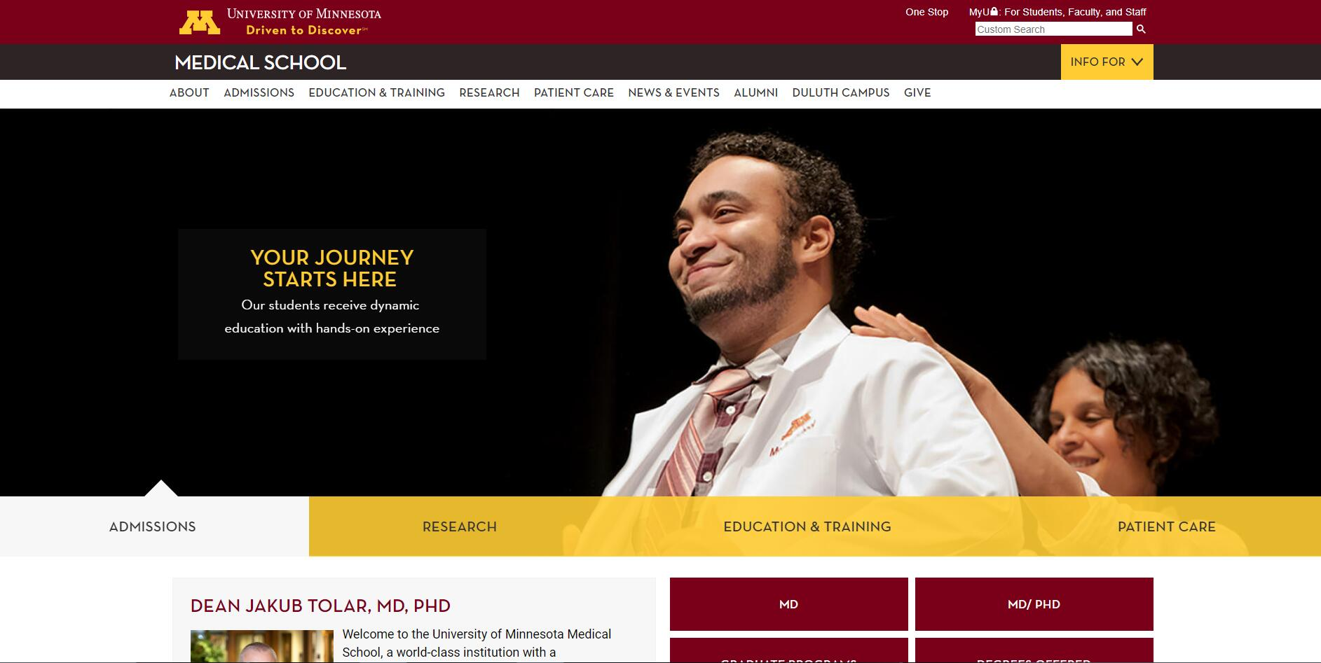 The Medical School at University of Minnesota--Twin Cities