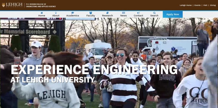 The P.C. Rossin College of Engineering and Applied Science at Lehigh University