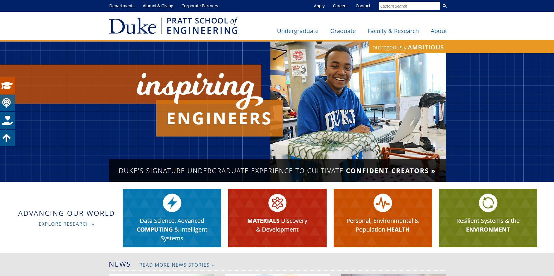 The Pratt School of Engineering at Duke University