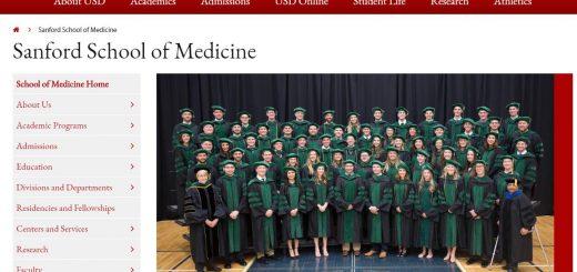 The Sanford School of Medicine at University of South Dakota