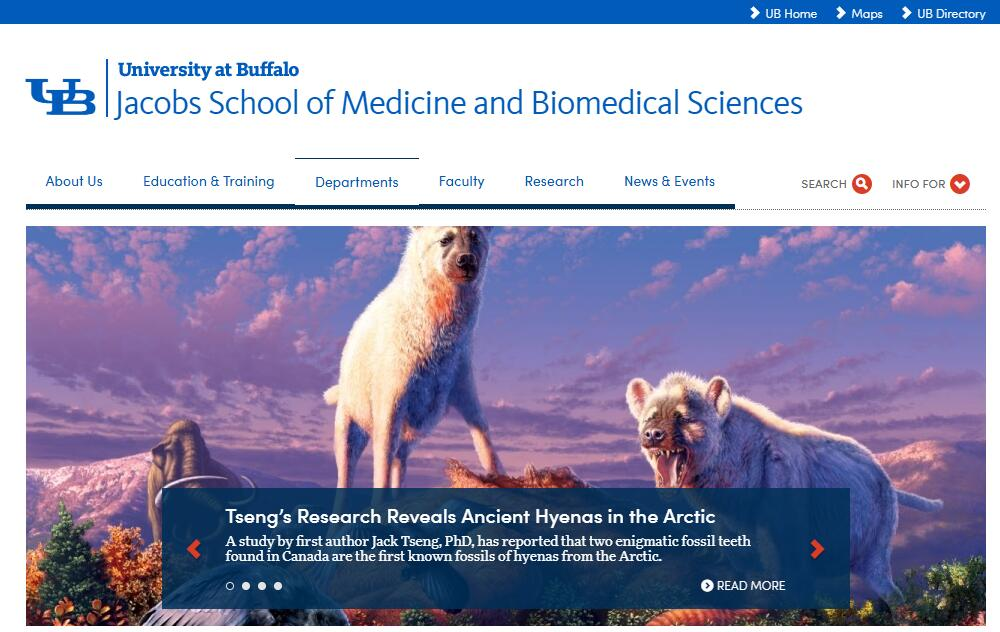 The School of Medicine and Biomedical Sciences at University at Buffalo--SUNY