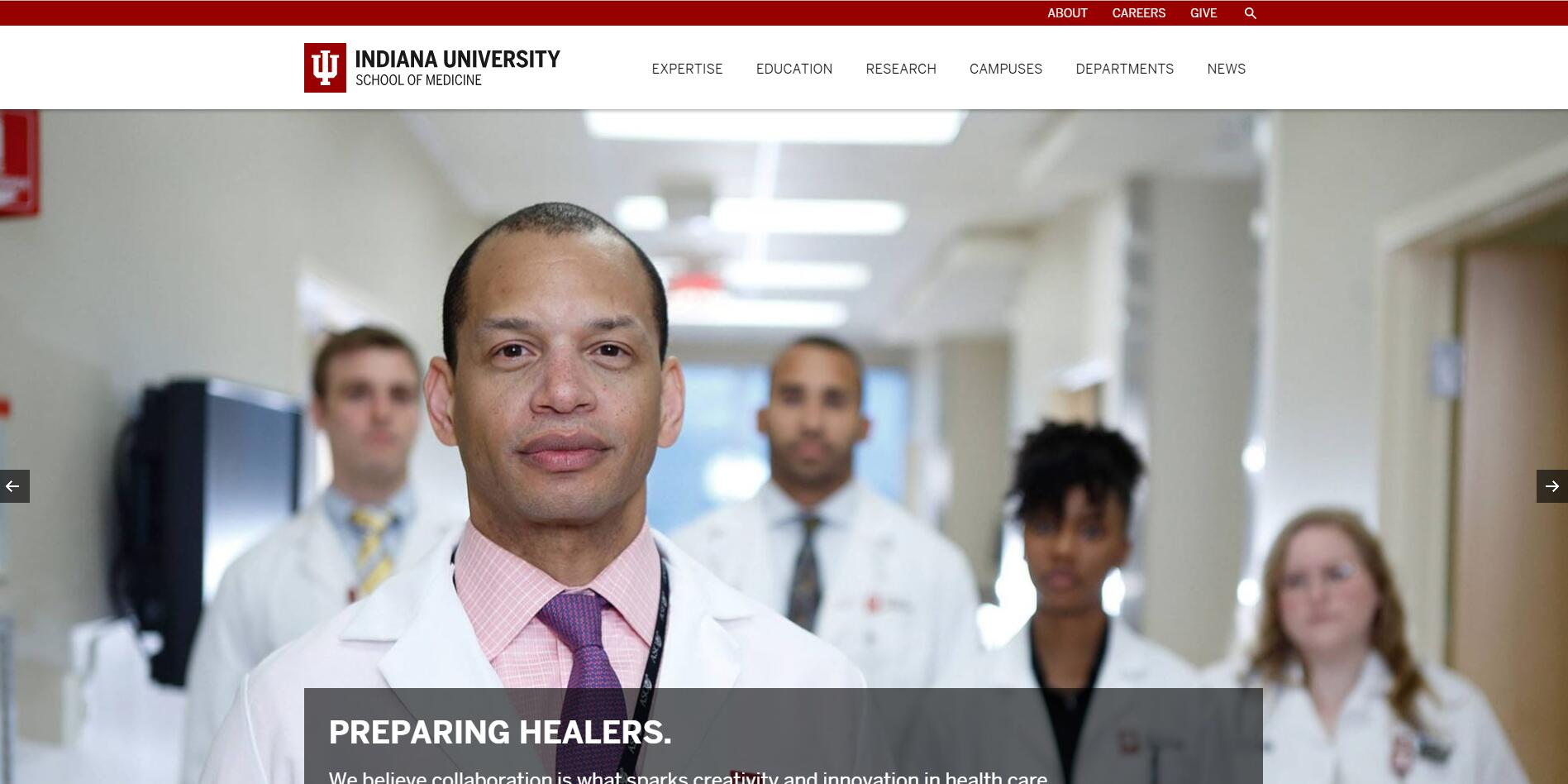 The School of Medicine at Indiana University-Purdue University--Indianapolis