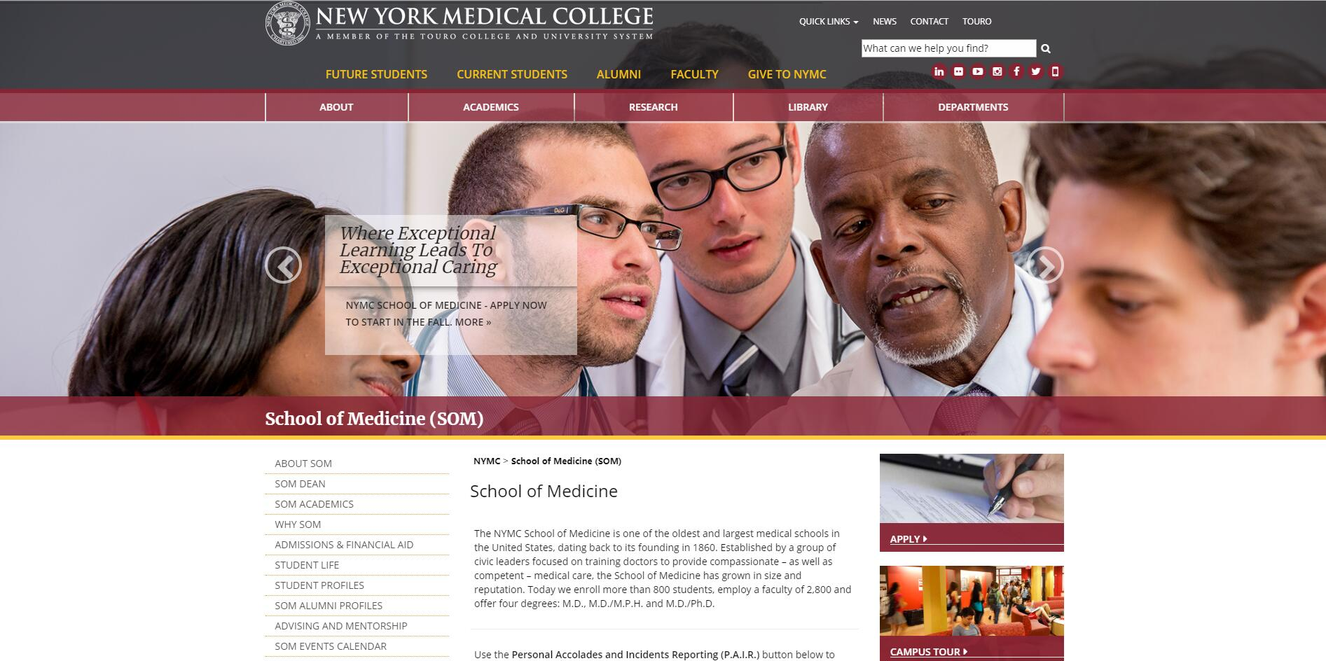 The School of Medicine at New York Medical College