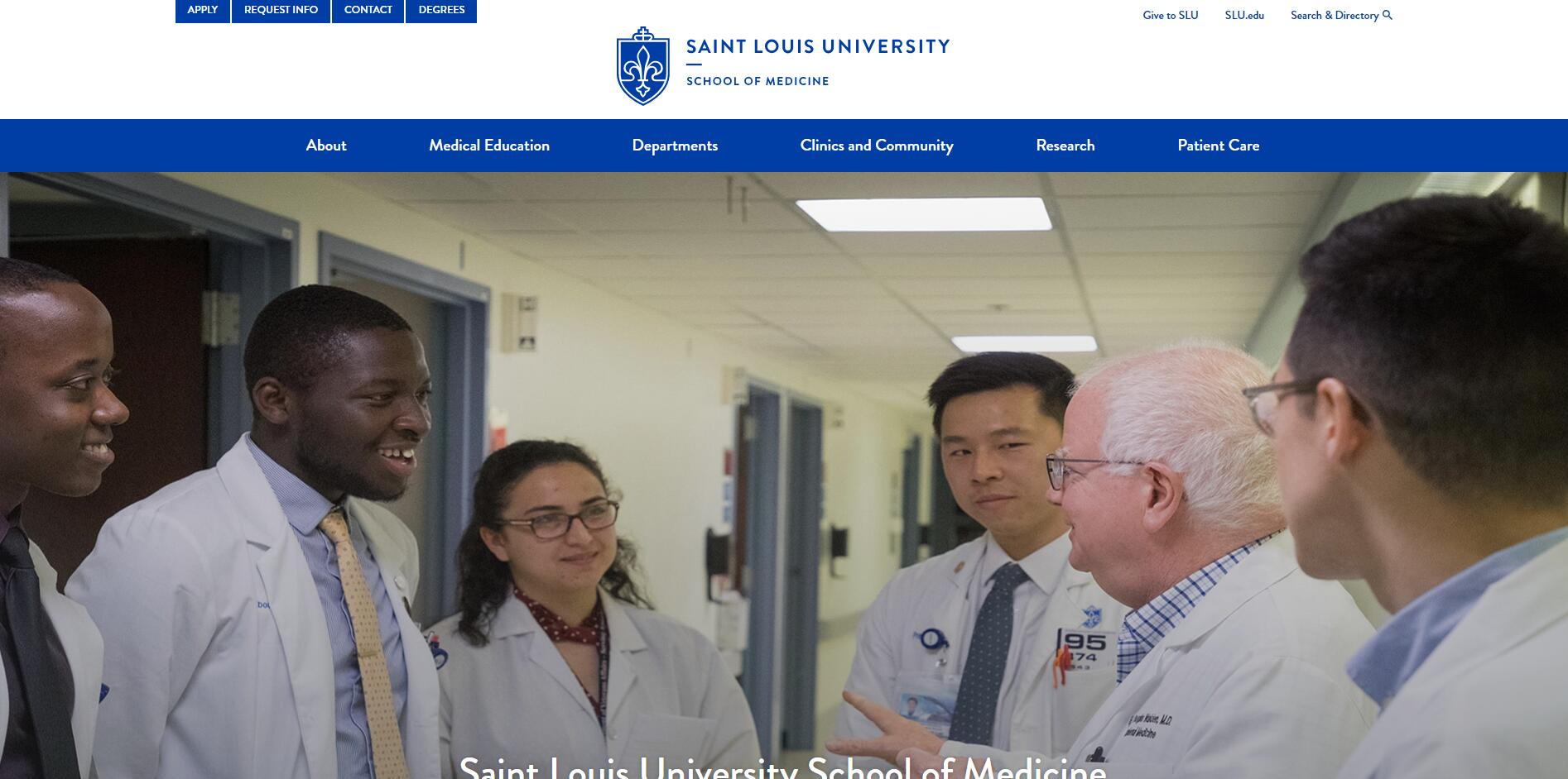 The School of Medicine at St. Louis University