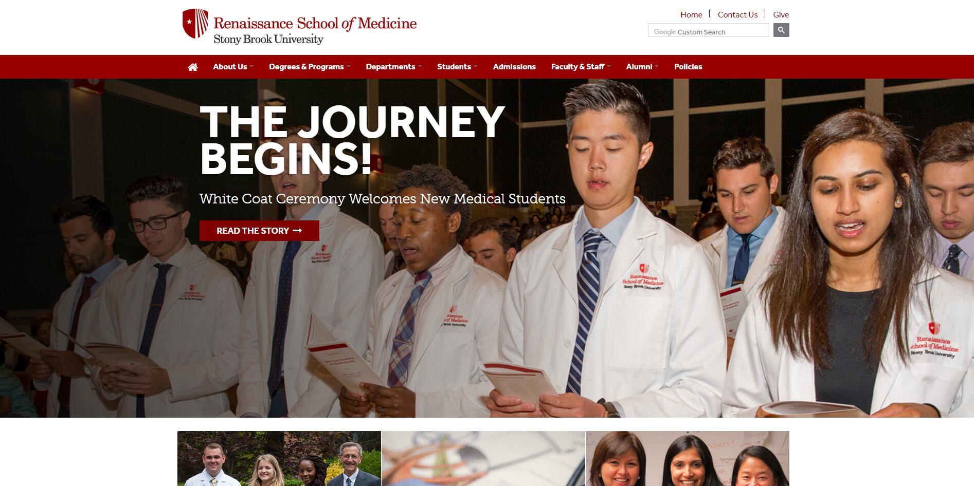The School of Medicine at Stony Brook University--SUNY