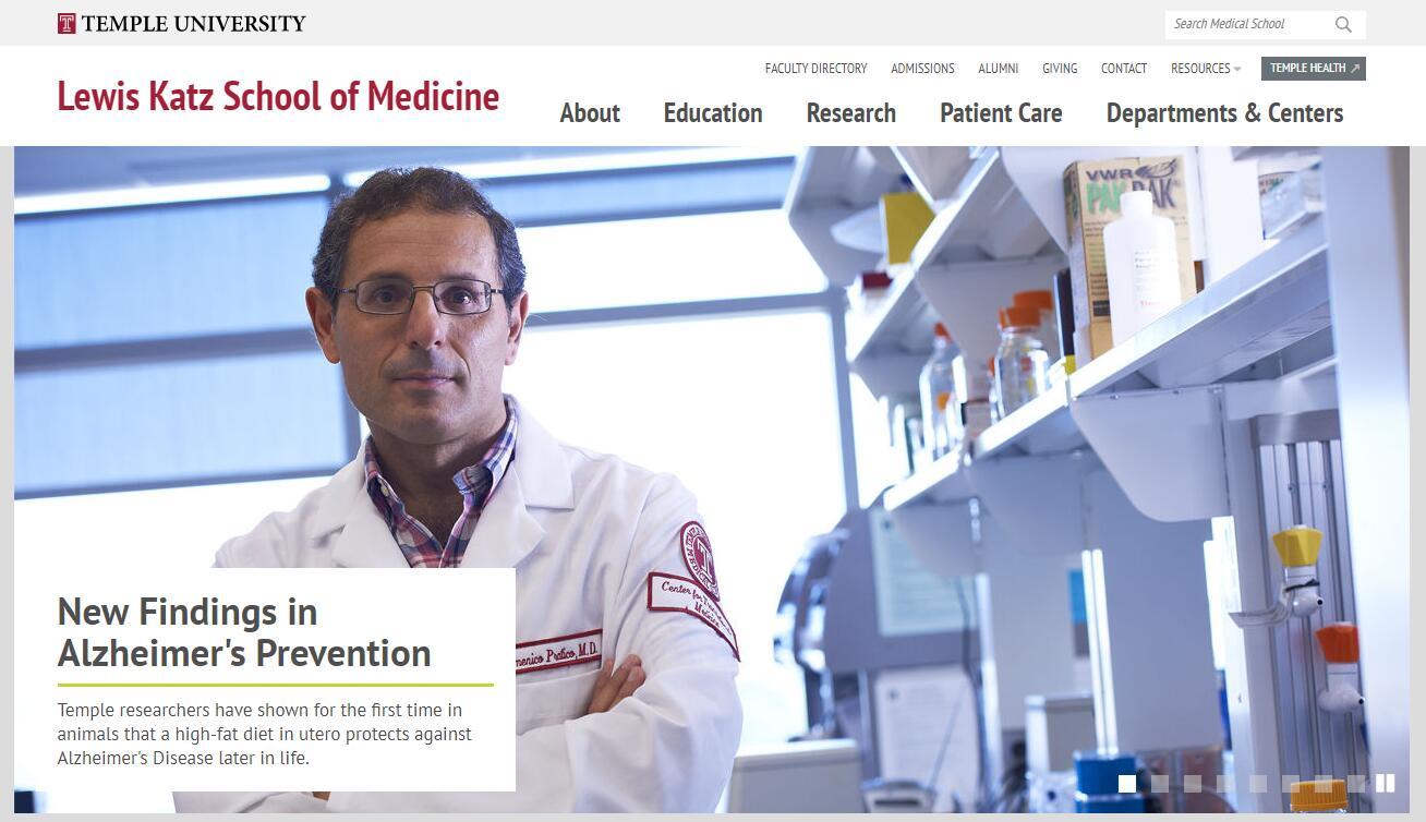 The School of Medicine at Temple University