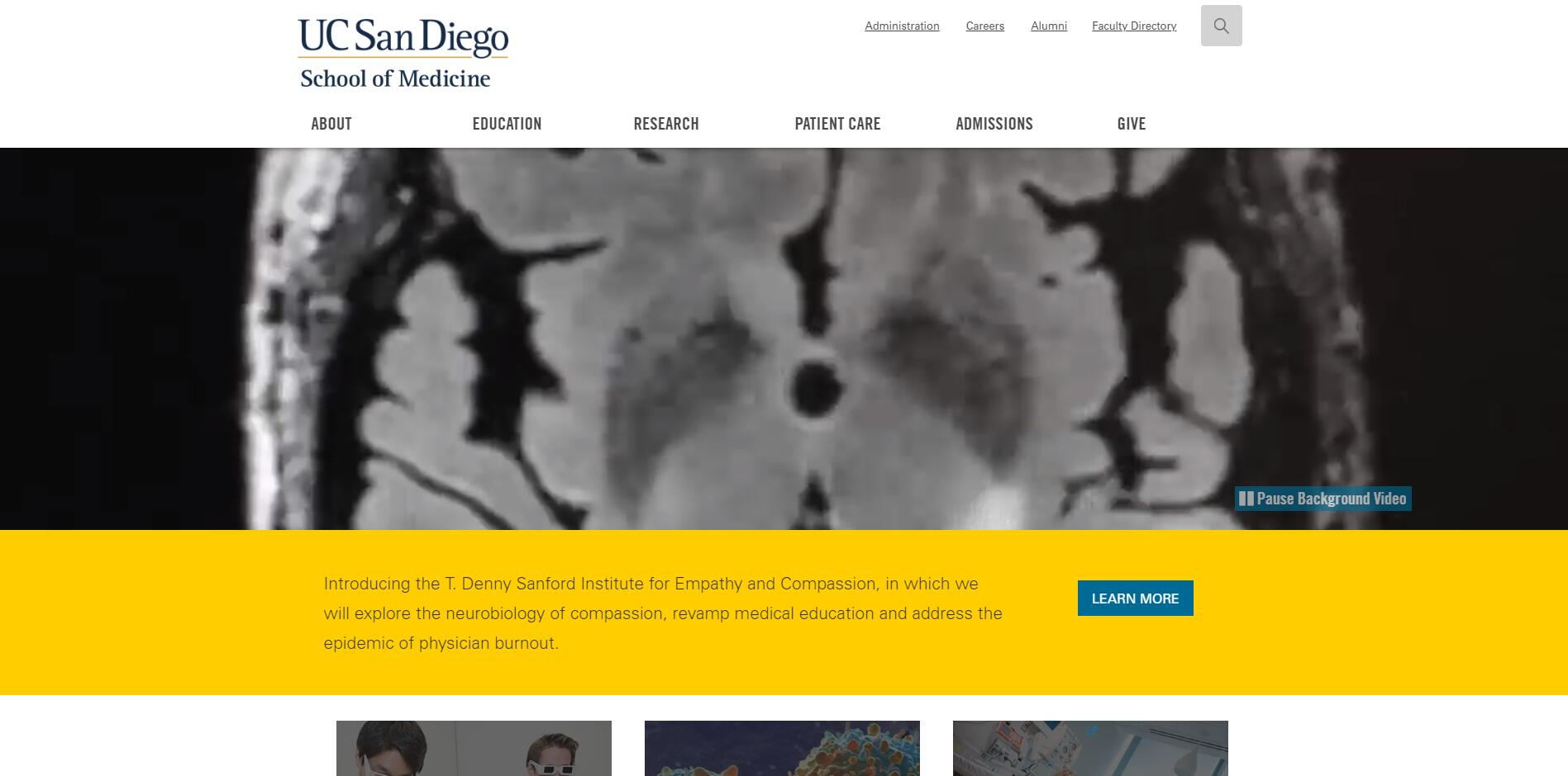 The School of Medicine at University of California--San Diego