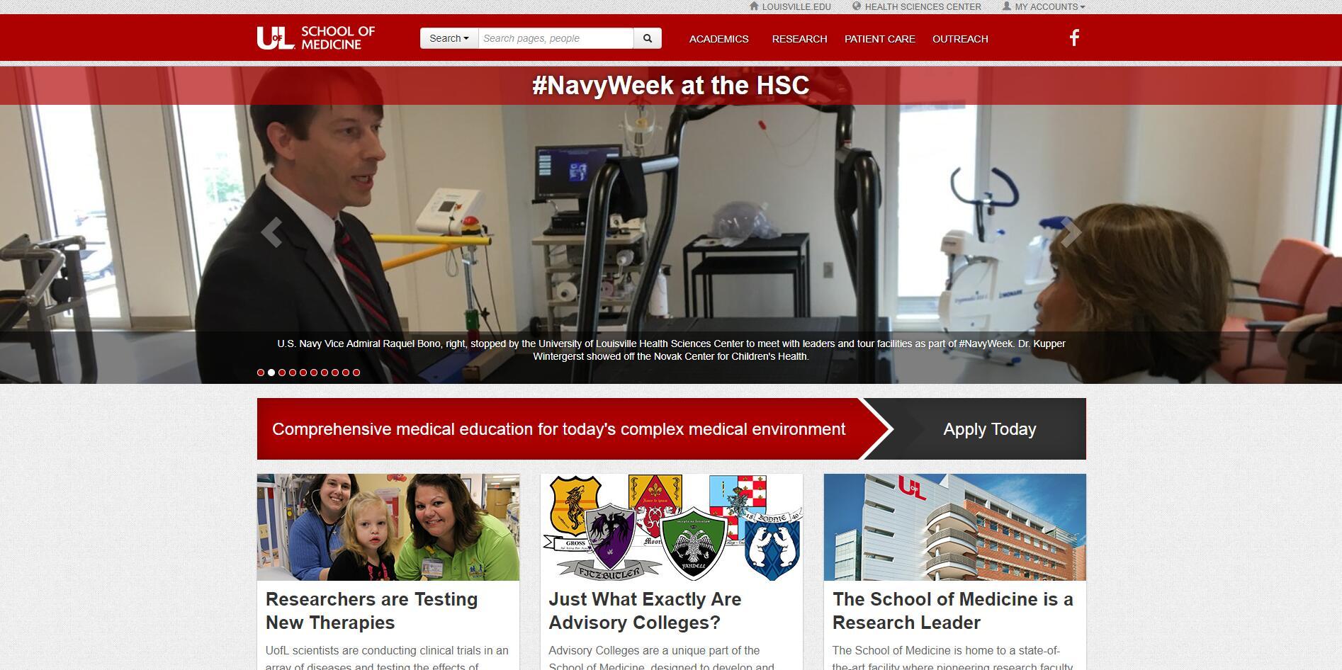 The School of Medicine at University of Louisville