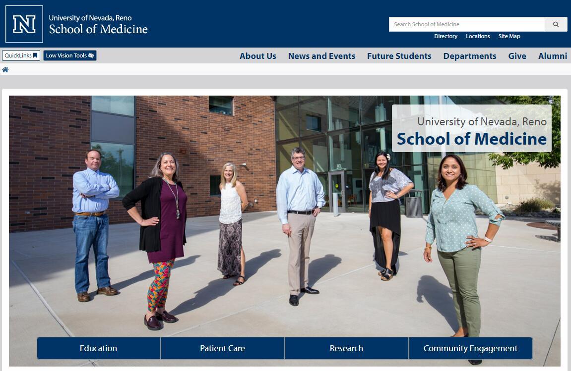 The School of Medicine at University of Nevada--Reno