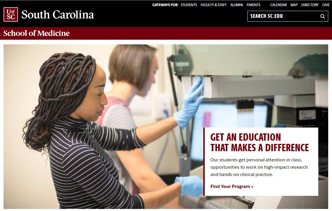 The School of Medicine at University of South Carolina