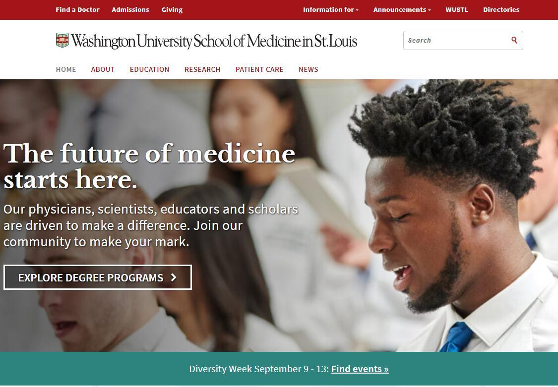 The School of Medicine at Washington University in St. Louis