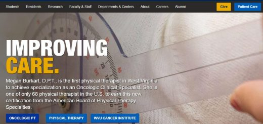 The School of Medicine at West Virginia University