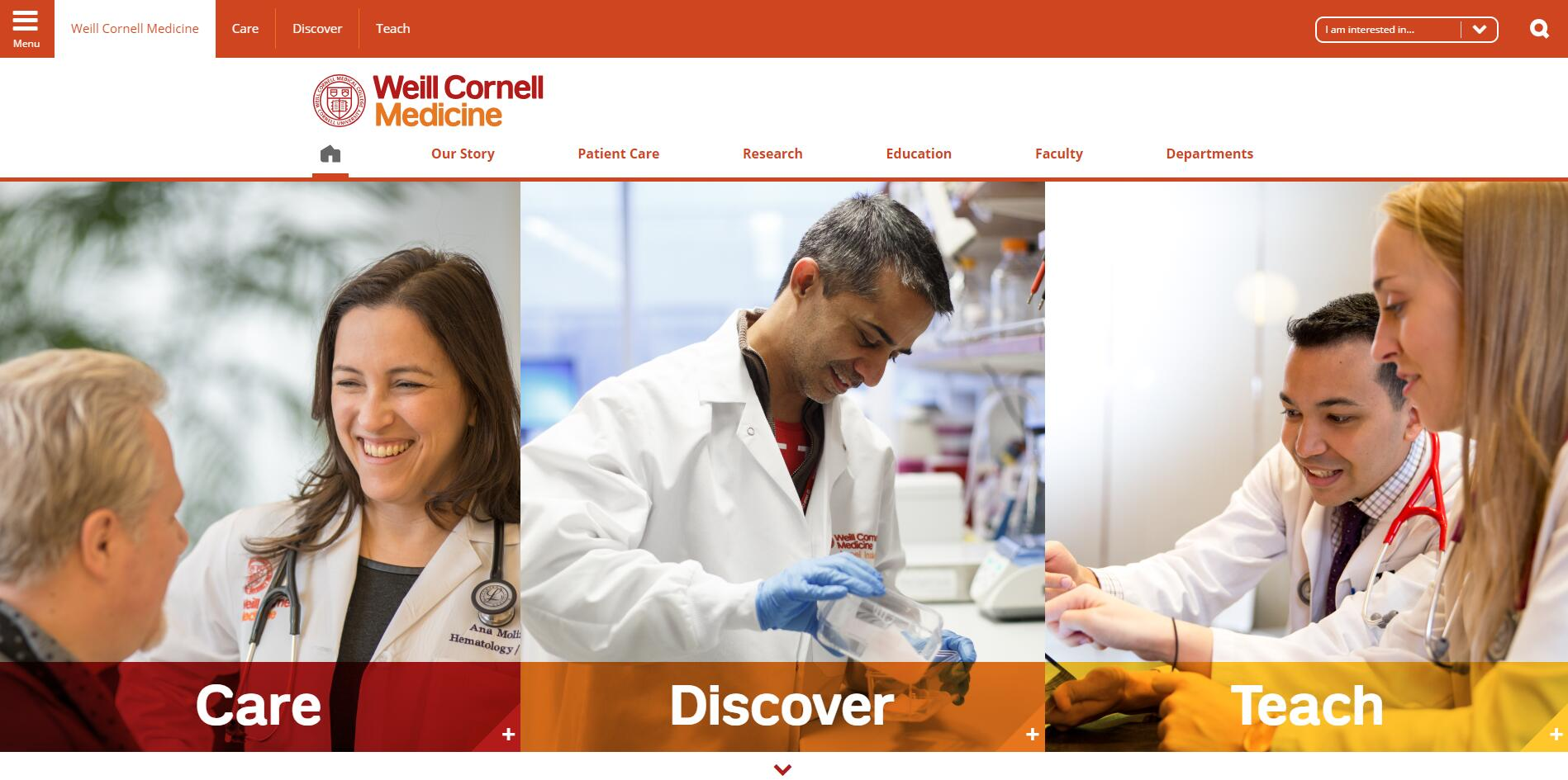 The Weill Cornell Medical College at Cornell University Admissions Statistics and Rankings