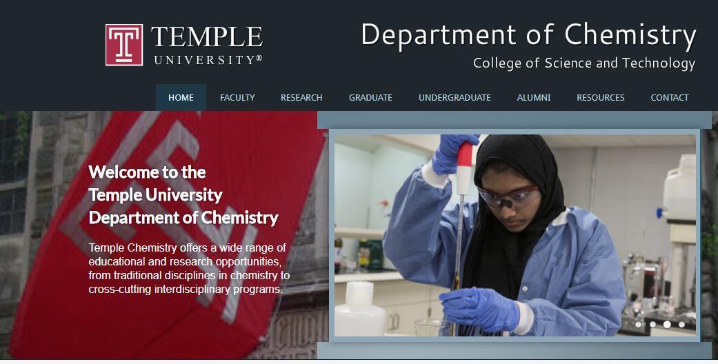 Top 110 Chemistry Schools