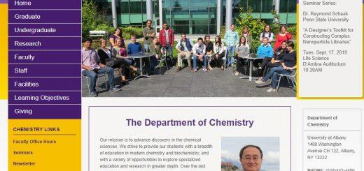 Top 130 Chemistry Schools
