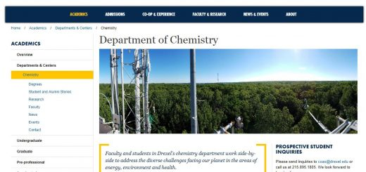 Top 140 Chemistry Schools