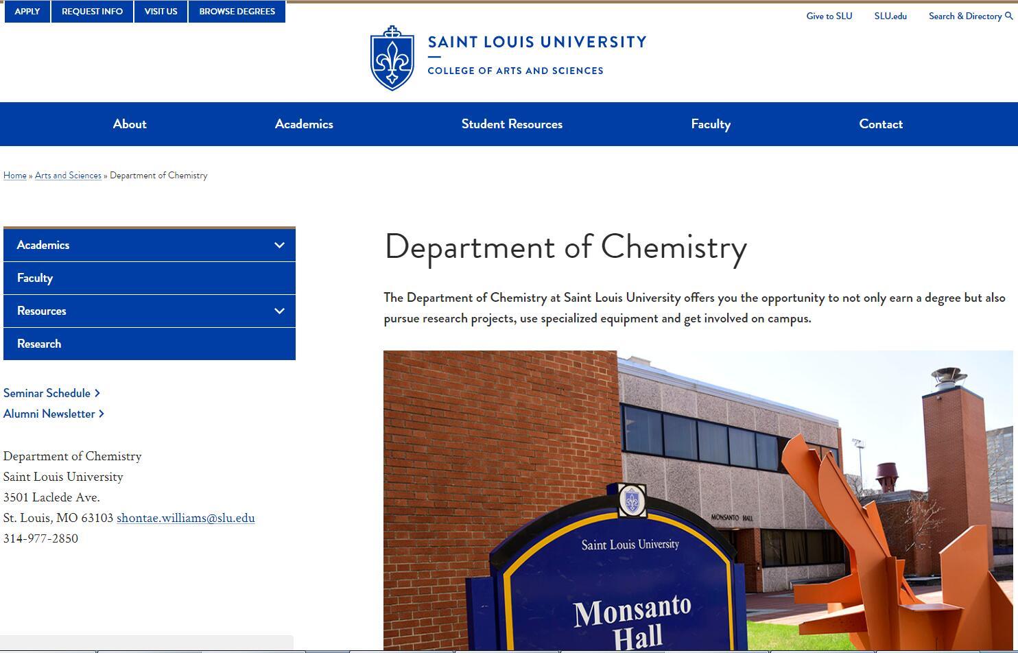 Top 150 Chemistry Schools