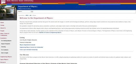 Top 150 Physics Schools