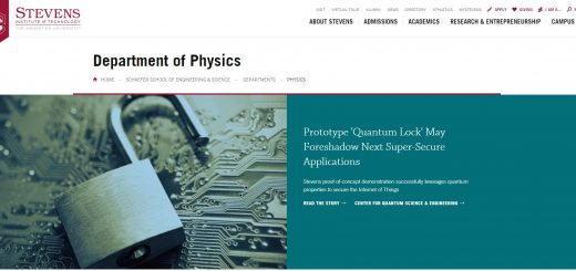 Top 160 Physics Schools