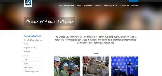 Top 170 Physics Schools