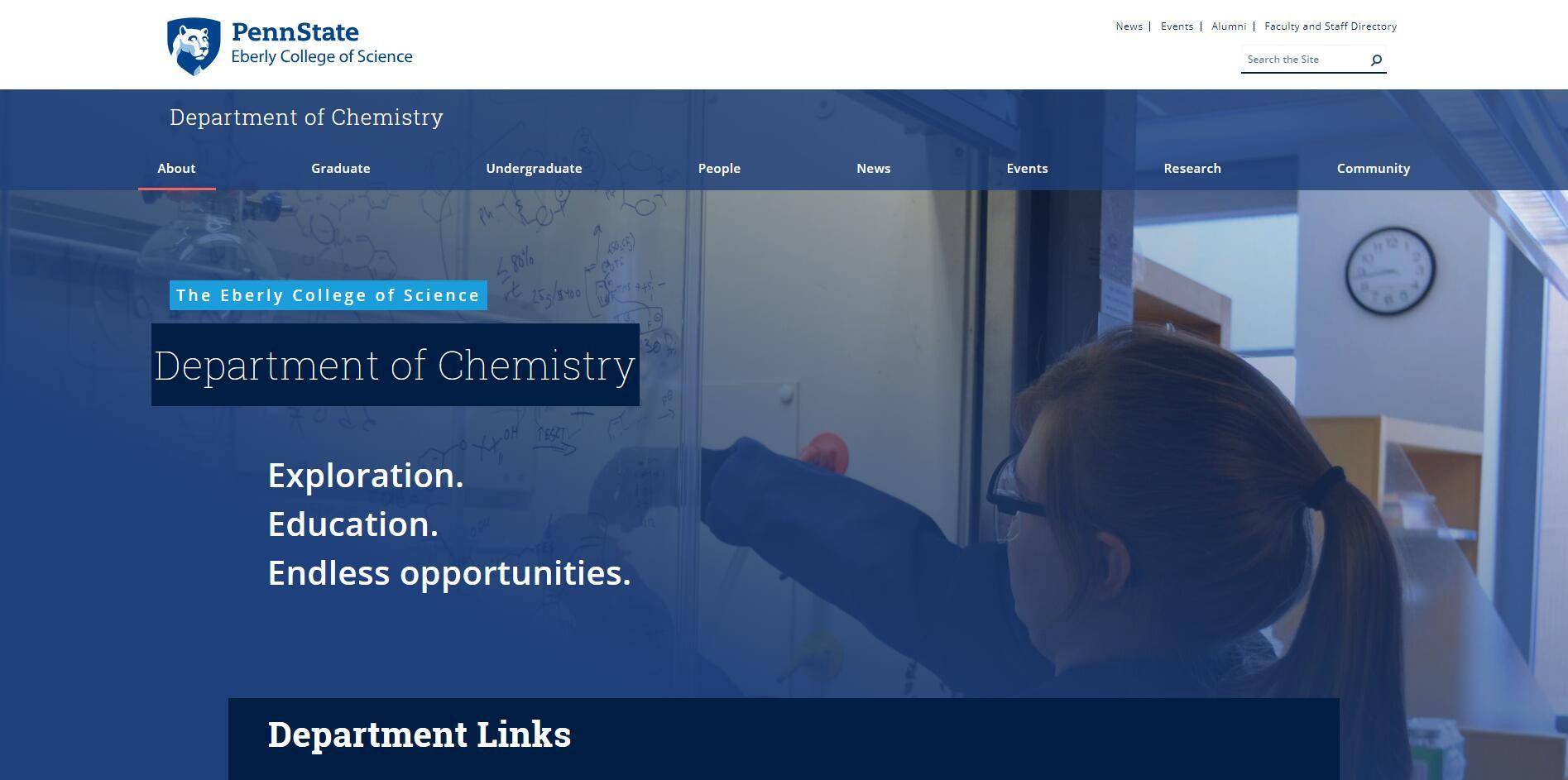 Top 30 Chemistry Schools