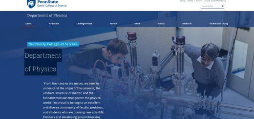 Top 30 Physics Schools