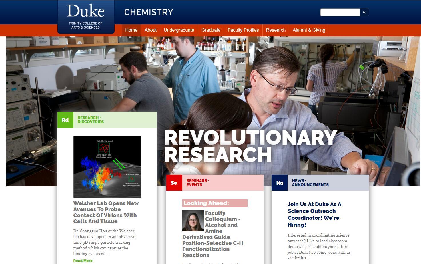 Top 50 Chemistry Schools