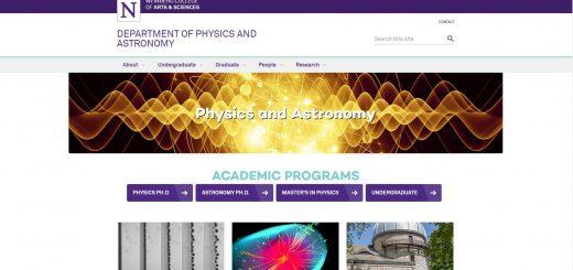 Top 60 Physics Schools