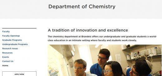 Top 80 Chemistry Schools
